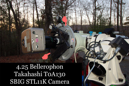 "4.25"" Bellerophon II on Takahashi T0A-130"